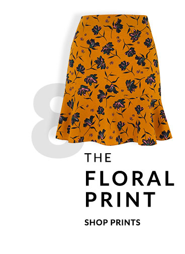 Prints are a beautiful way of making your outfit glow