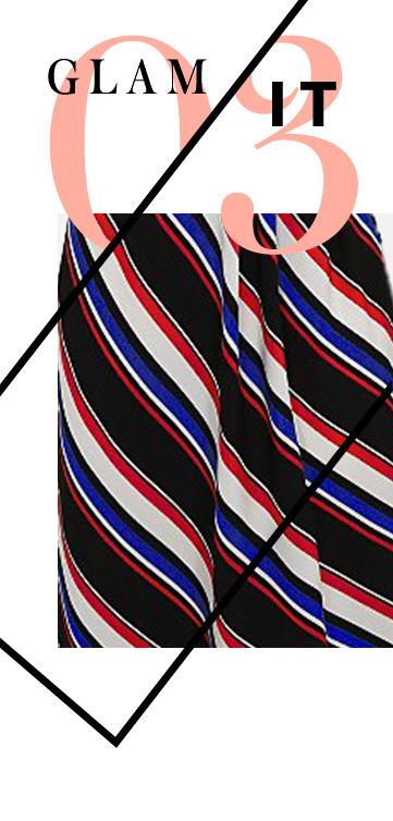 Make a statement in stripes