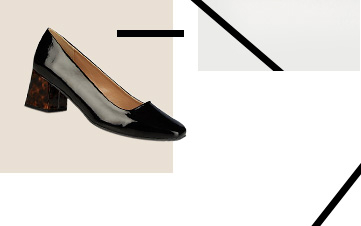 Shop black patent heels