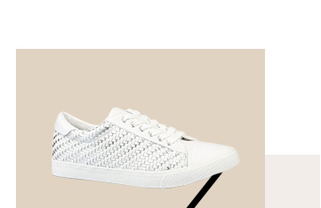 Shop white trainers