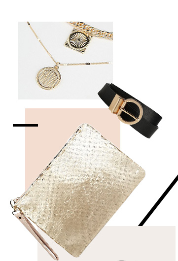 Glam up your look with our range of accessories
