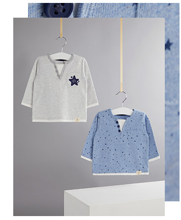 Shop beautiful baby basics designed by Billie Faiers