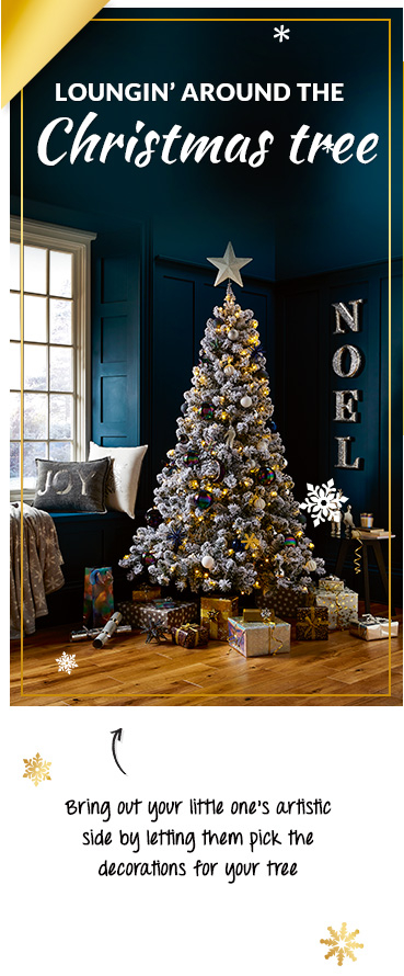 Classic red, classy silver or chic blue - how will you choose to decorate your tree?