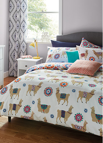 Refresh your bed space with our stylish range of duvet sets