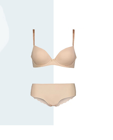 Shop nude bra and knickers