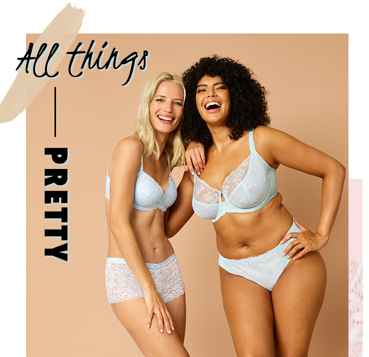 Shop our pretty everyday bra range