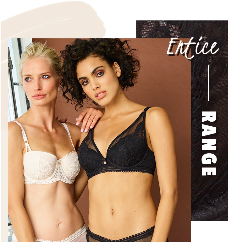 Shop our Entice lingerie range