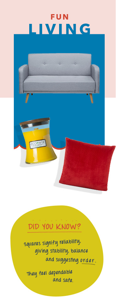 Bring the living room to life with fun and colourful accessories