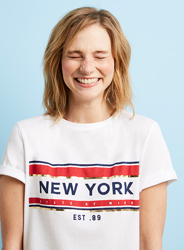 Express yourself with our selection of slogan t-shirts