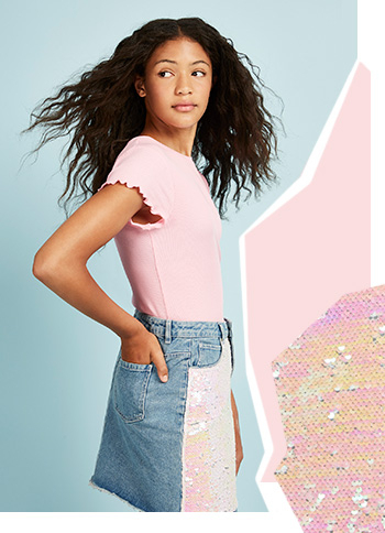 Discover our new teen range for girls