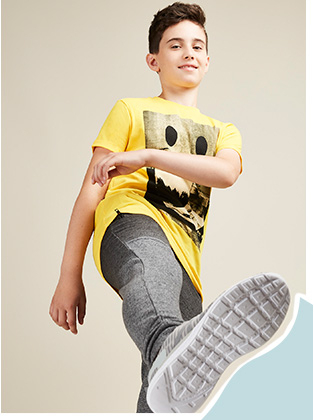 Explore our new teen range for boys