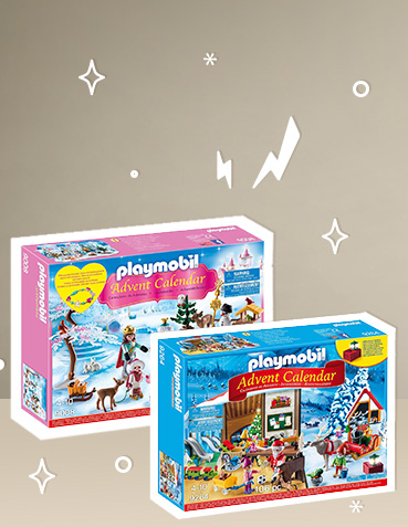 Count down to Christmas with our Playmobil advent calendars