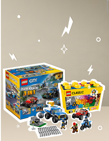 Get building with our LEGO playsets