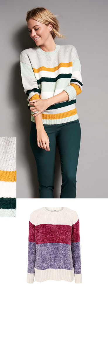 Earn your stripes with our new range of knitwear and jumpers