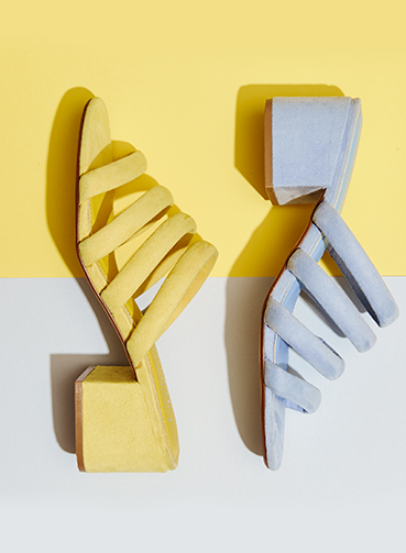 Make a statement with new summer footwear