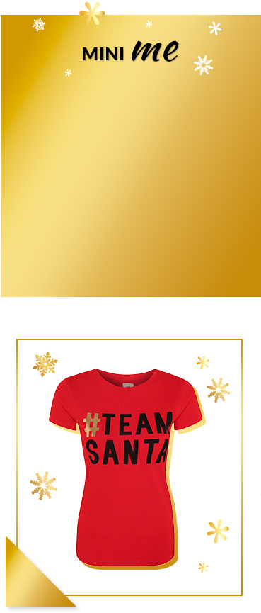 Impress your kids with a social media slogan festive t-shirt