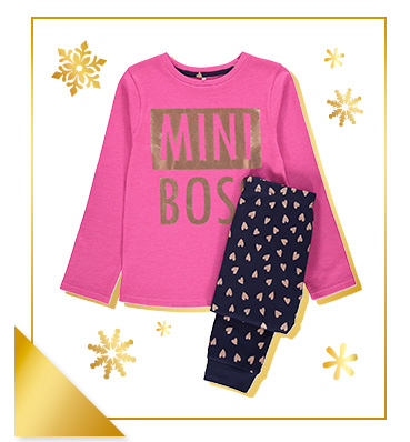These soft cotton-rich pyjamas will show who's the boss