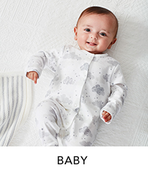 Kit your little one out with our gorgeous range of baby outfits