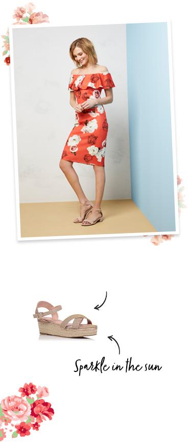 Shop our gorgeous range of floral dresses