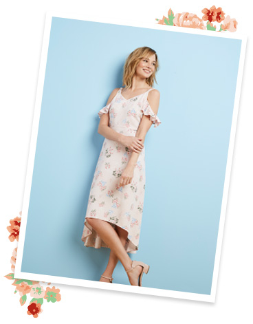 Shop our gorgeous range of floral dresses