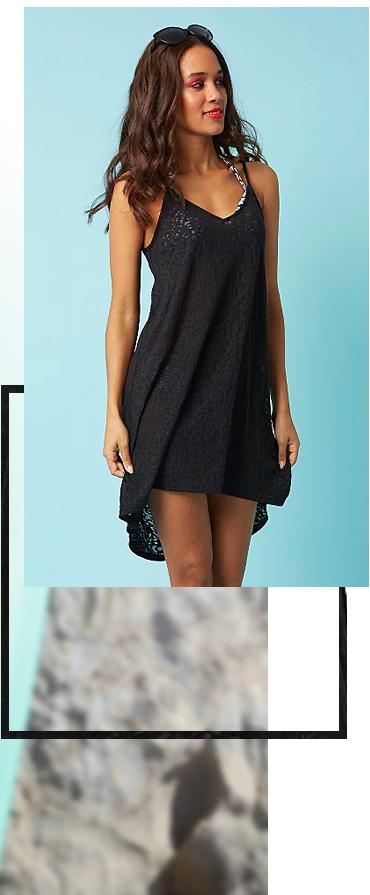 Shop leopard print cover up