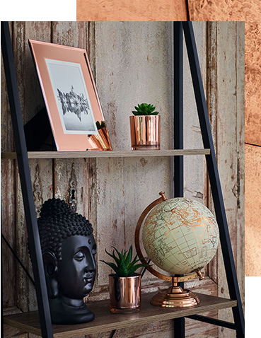 Shop copper accessories for the living room