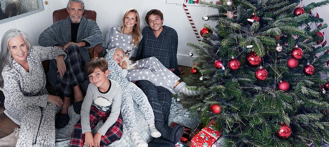 From pyjamas to nightgowns and slippers, kit the family out this Christmas at George.com