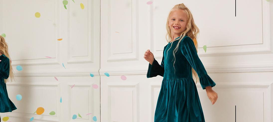 Shop dazzling party outfits for kids' at George.com
