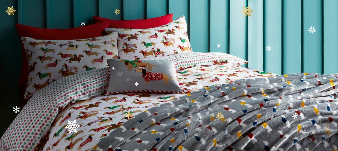 Shop Christmas bedding