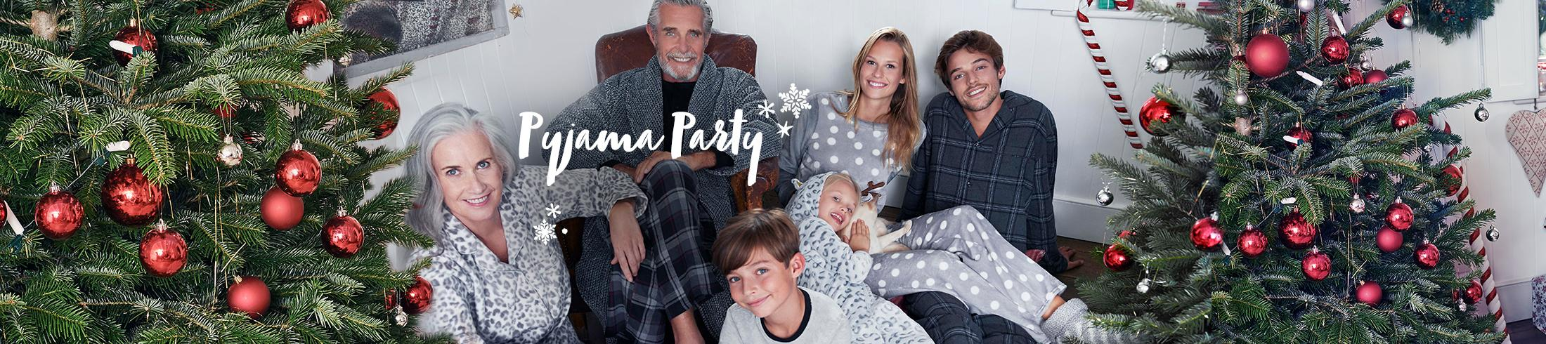 Cosy up this Christmas with our snug range of nightwear for all the family