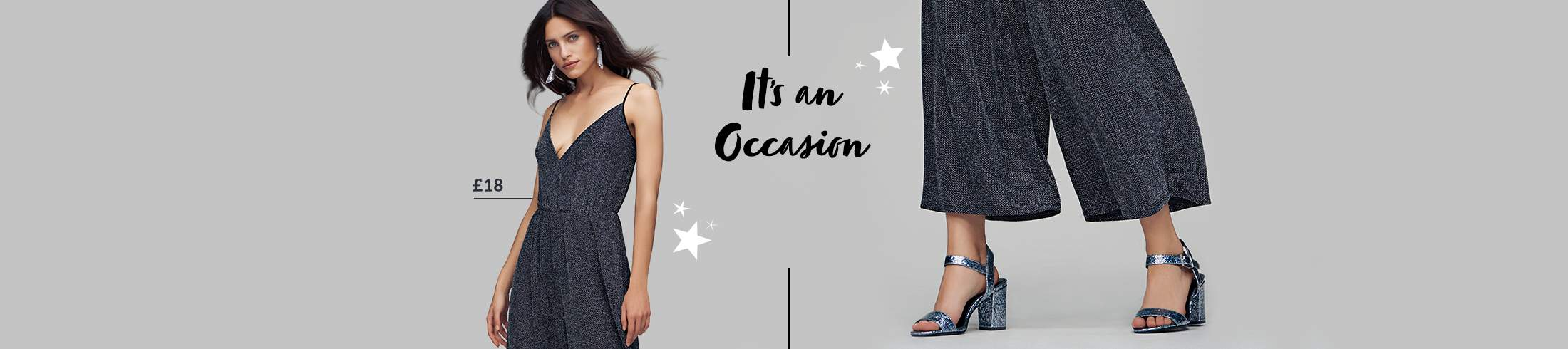 Step out and shine with our dazzling range of partywear for women at George.com