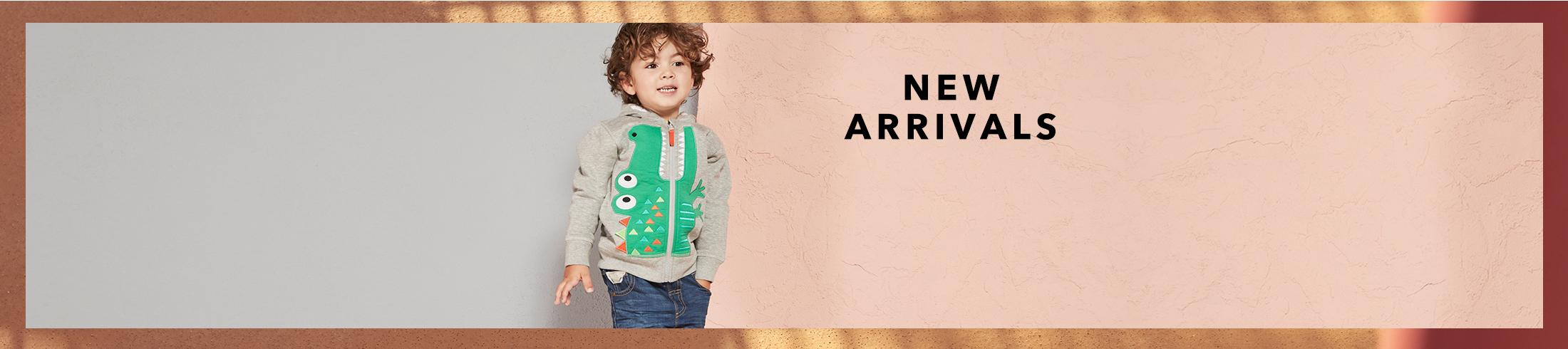 Shop new arrivals for boys now