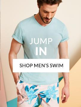76709cf9dc0 Dive into our men s swimwear range