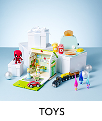 Discover the best toys tried and tested by little helpers at George.com