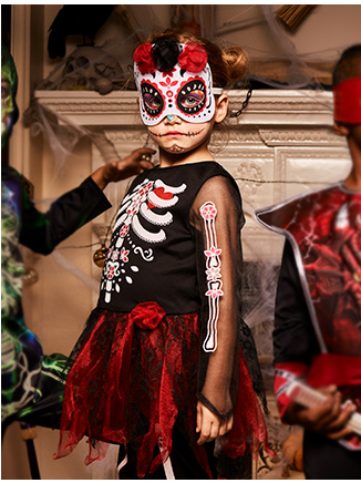 Halloween is a great time to bring the family together, and what better than with a group fancy dress costume. Our guide will help you transform your family into a terrifying horde.
