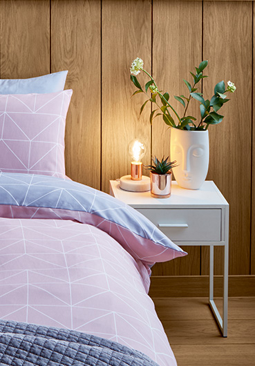 Fancy turning your bedroom into a retreat against the winter weather? Try Life & Style's four tips for creating a cosy ambiance with our stylish range of rugs, lighting and more.
