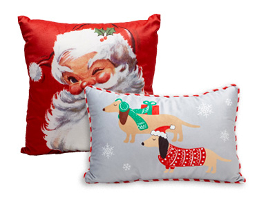 Our Christmas cushions make great additions to your living room