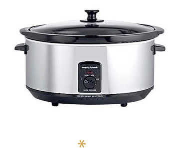 Easy to use, a slow cooker can be left safely cooking while you go about your busy daily routine