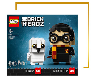 Spread the magic this Christmas with our LEGO Harry Potter Brick Headz playset