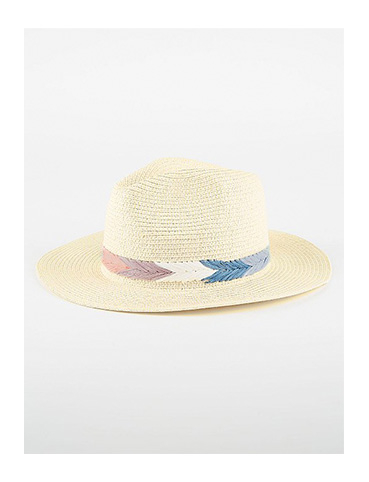 Top off your festival look with a straw hat