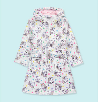 Do they love emojis? Then they'll love this unicorn-themed dressing gown