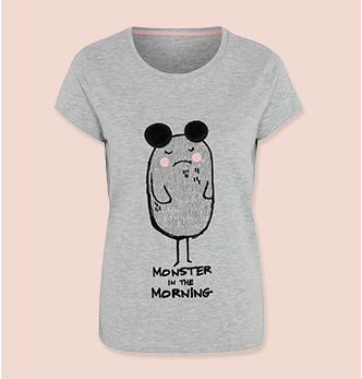 Are they a morning person? If not, then this t-shirt is for them