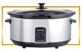 Prepare delicious meals with ease with this Morphy Richards 6.5L slow cooker