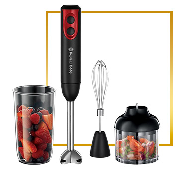This Russell Hobbs blender combines mixing, whisking and chopping in a choice of two speeds