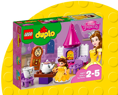 Shop LEGO Beauty and the Beast playset