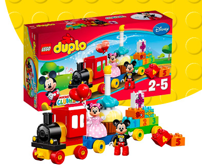 Shop Mickey and Minnie Mouse LEGO playset