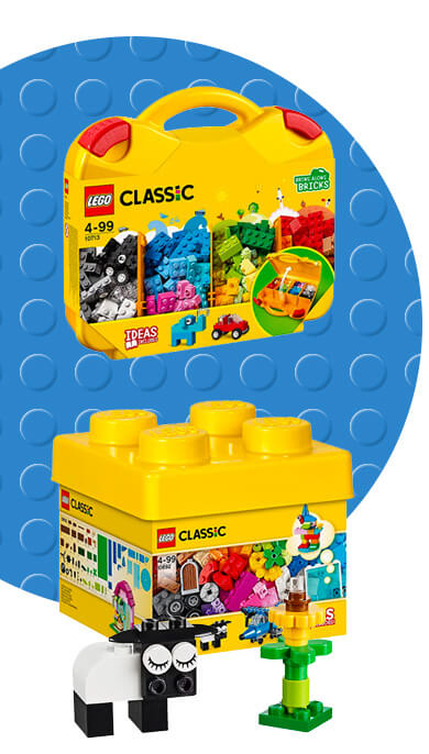Get brick-building with our LEGO Classic playset
