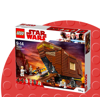 Shop LEGO Sandcrawler playset