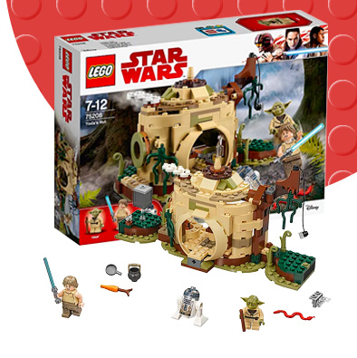 Shop LEGO Yoda's Hut playset