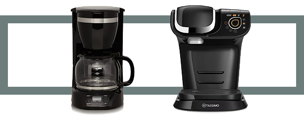 Give yourself a well-earned boost with a freshly-made coffee